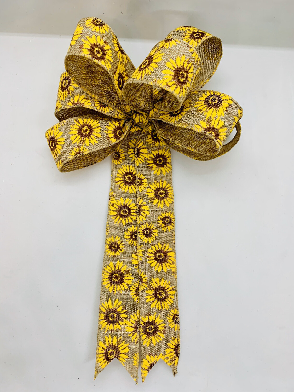 Sunflower Bow Natural