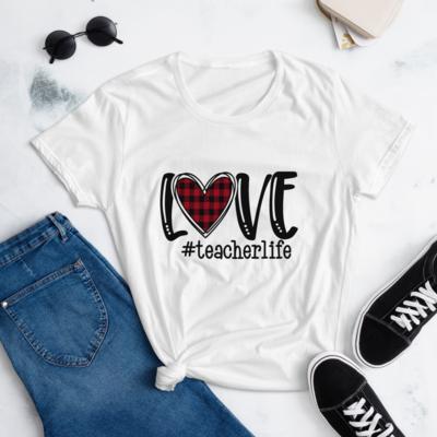 Love Teacher Shirt, Teacher Life Shirt, Unisex T-Shirt, A Touch of Faith