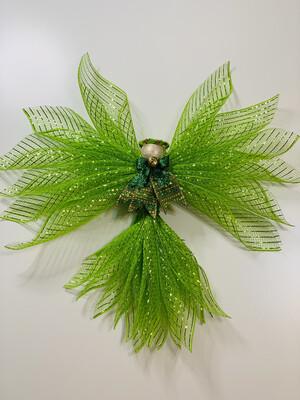 Green Angel Tree Topper