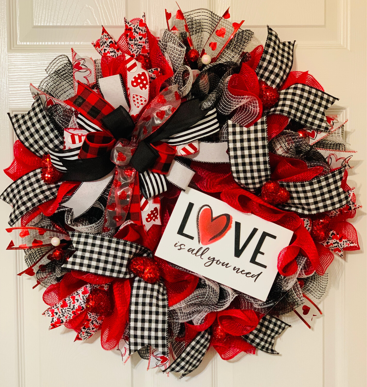 Love Is All You Need Valentine's Day Wreath