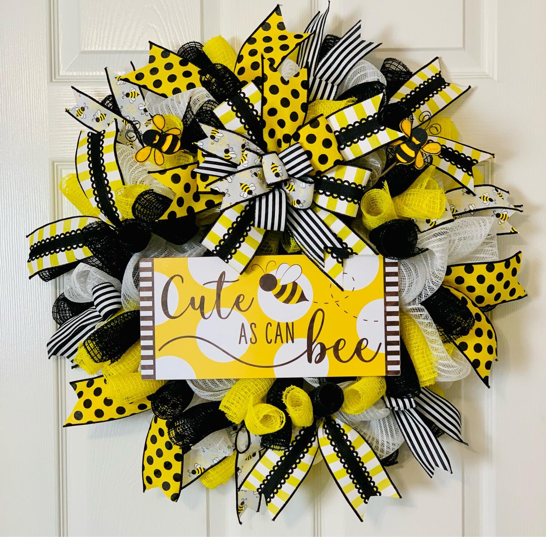 Cute As Can Bee Wreath, A Touch of Faith
