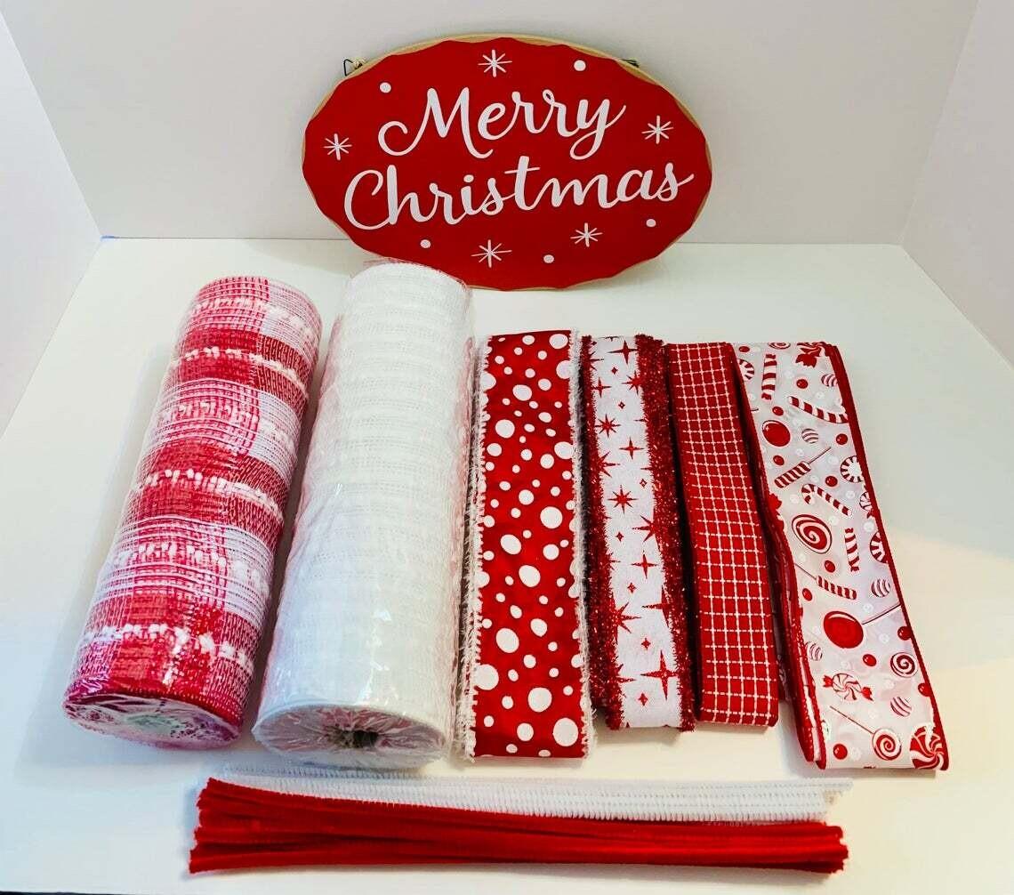Merry Christmas Wreath Kit
