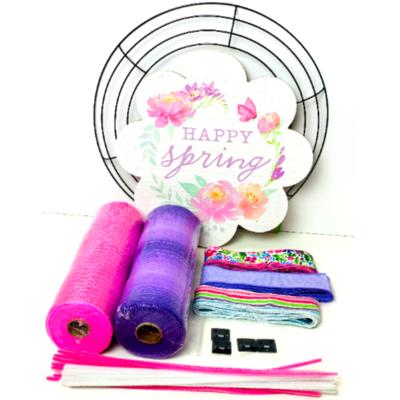 Happy Spring Wreath Kit, A Touch of Faith