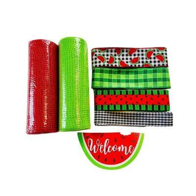 Welcome Watermelon Wreath Kit, A Touch of Faith
