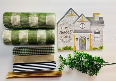 Home Sweet Home Wreath Kit