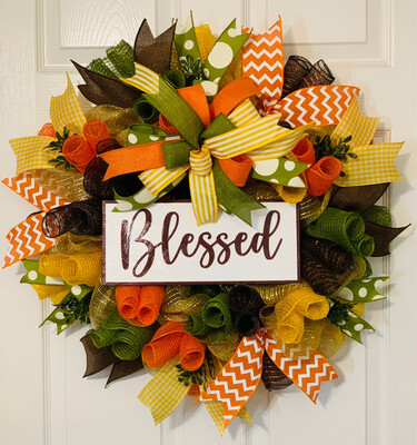 Blessed Fall Wreath