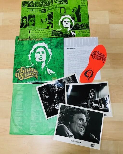 Rare Gilbert O'Sullivan Promo Vinyl LP I'm a writer, not a fighter