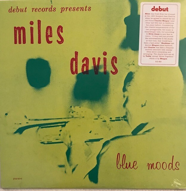 Miles Davis ~ Blue Moods ~ Vinyl LP (New) Sealed
