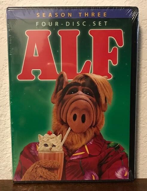 Alf ~ Season Three ~ DVD 4 Disc Box Set (New) Not Rated