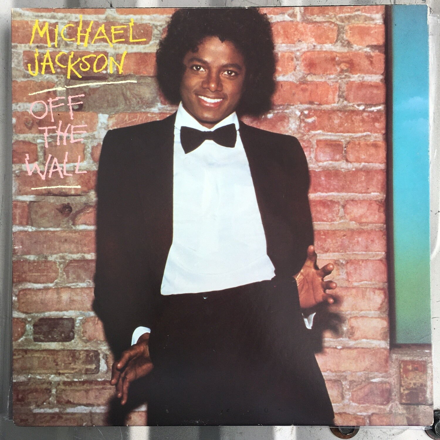 Michael Jackson ~ Off the Wall ~ Promotional Copy ~ (1979) USED Vinyl LP