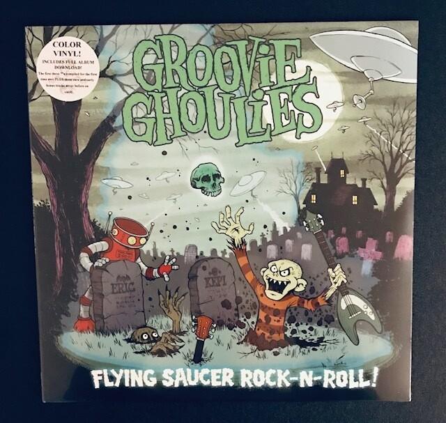 Groovie Ghoulies ~ Flying Saucer Rock-N-Roll! ~ Colored Vinyl LP (New) Includes Download