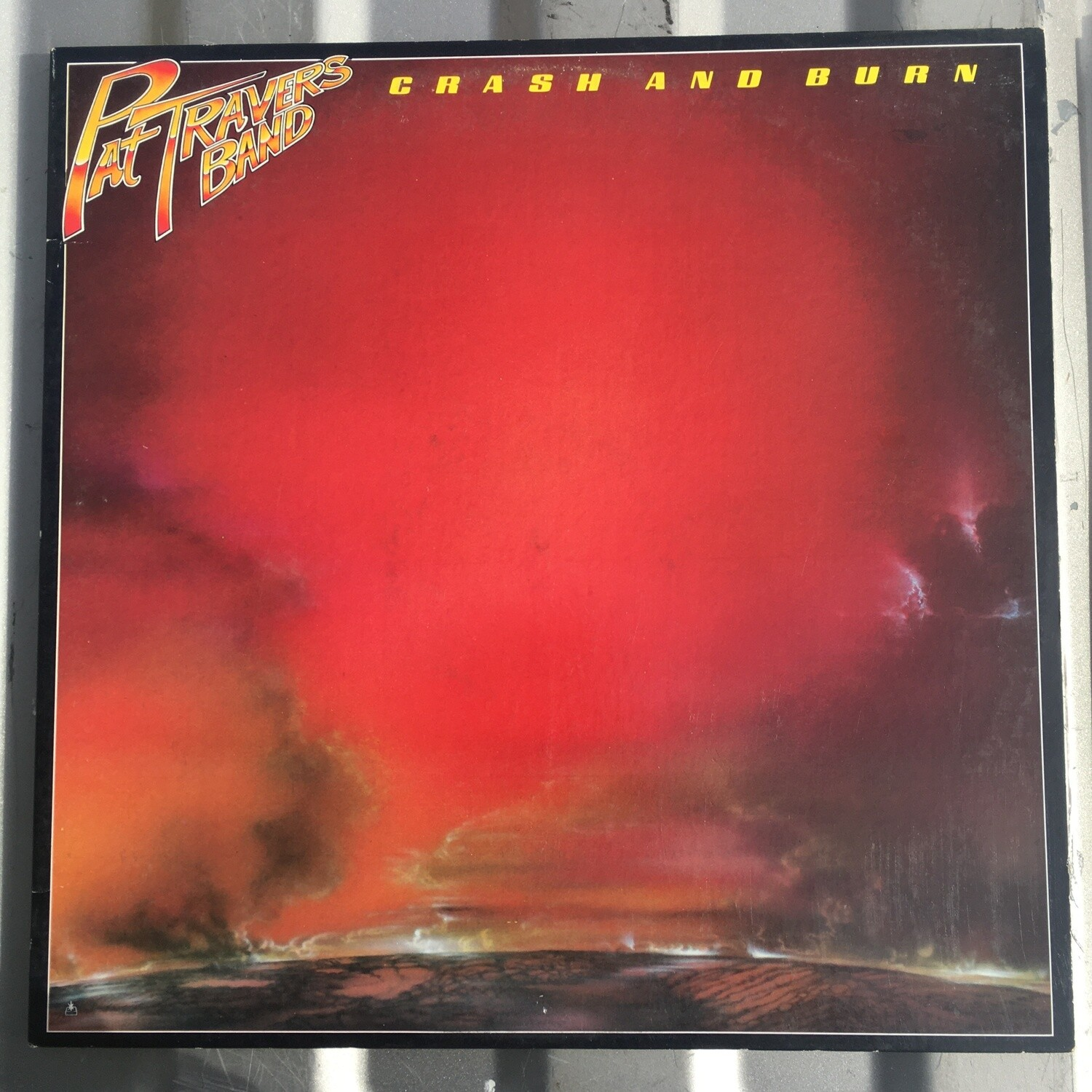 Pat Travers Band ~ Crash and Burn ~ (USED) Vinyl LP (VG+)