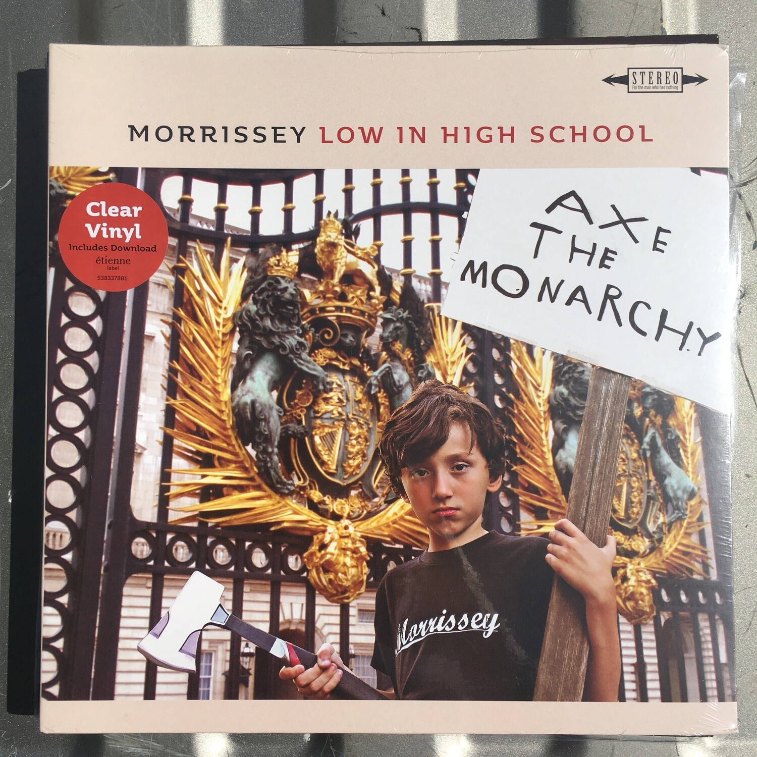 Morrissey ~ Low In High School ~ (NEW) Clear Vinyl LP
