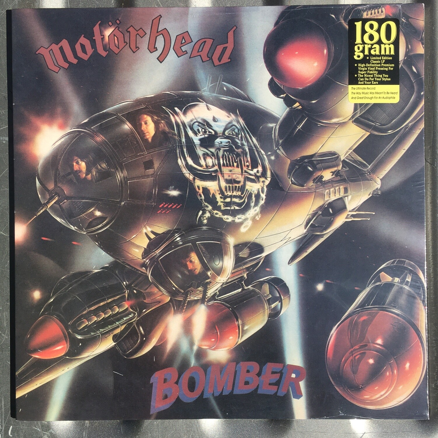 Motorhead ~ Bomber ~ (NEW) Limited Edition Vinyl LP