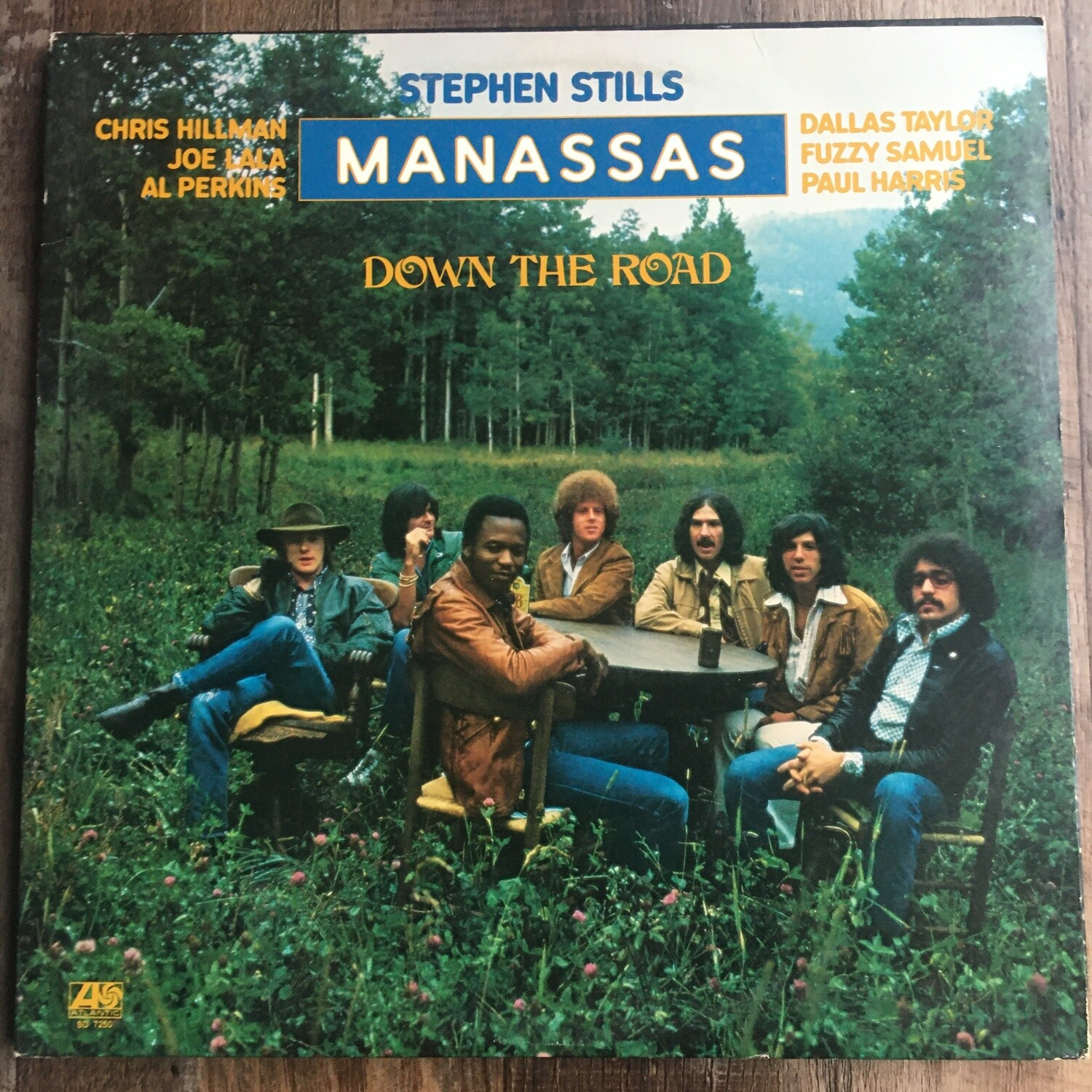 Stephen Stills (Manassas) ~ Down The Road ~ (USED) Vinyl LP (VG+)