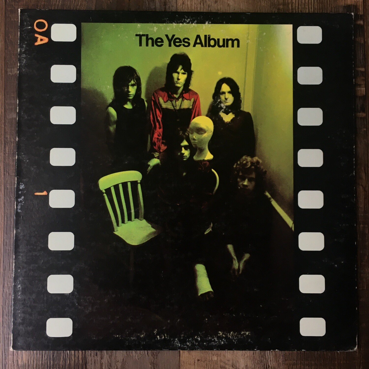 Yes ~ The Yes Album ~ (USED) Vinyl LP (VG+) ~ Gatefold Cover