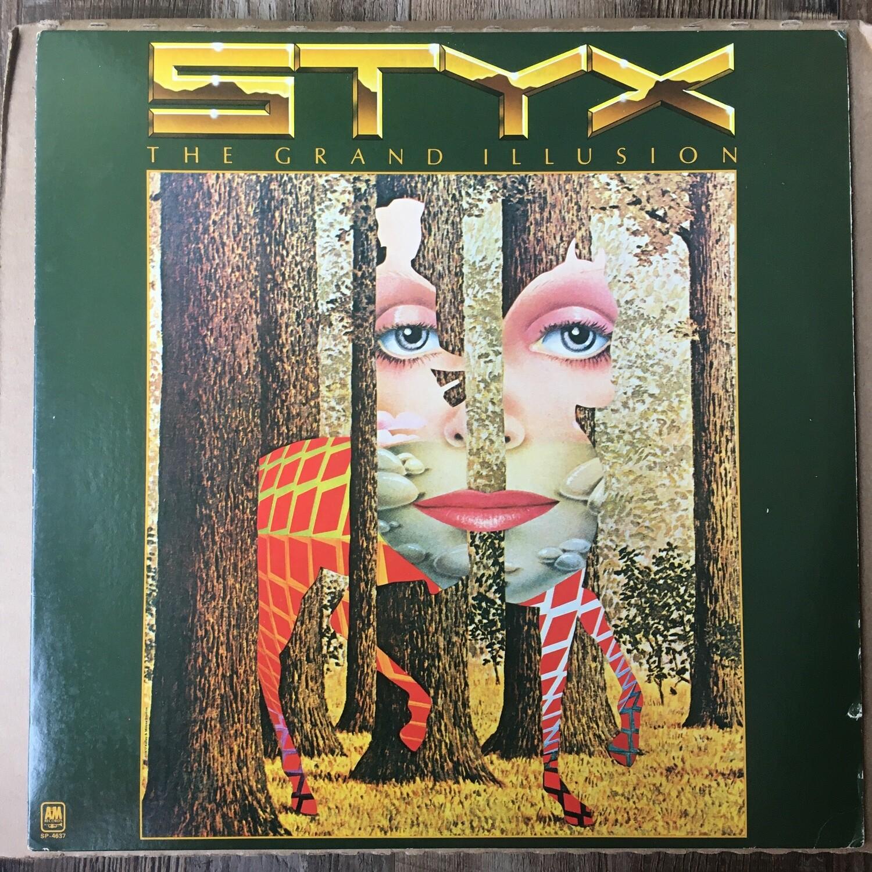 Styx ~ The Grand Illusion ~ (USED) Vinyl LP (VG+) ~ Original Pressing