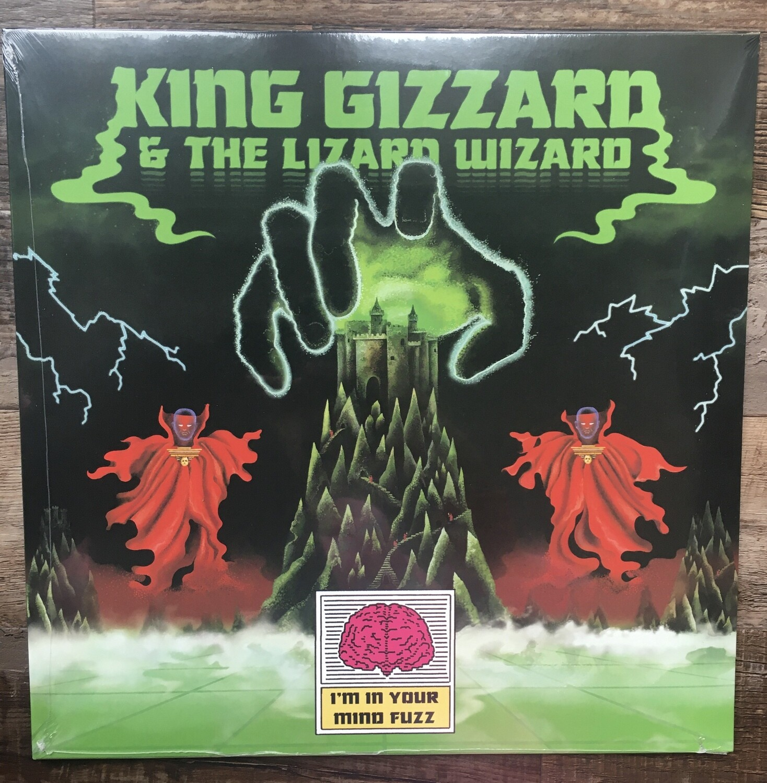 King Gizzard & The Lizard Wizard ~ I'm In Your Mind Fuzz ~ (NEW) Vinyl LP