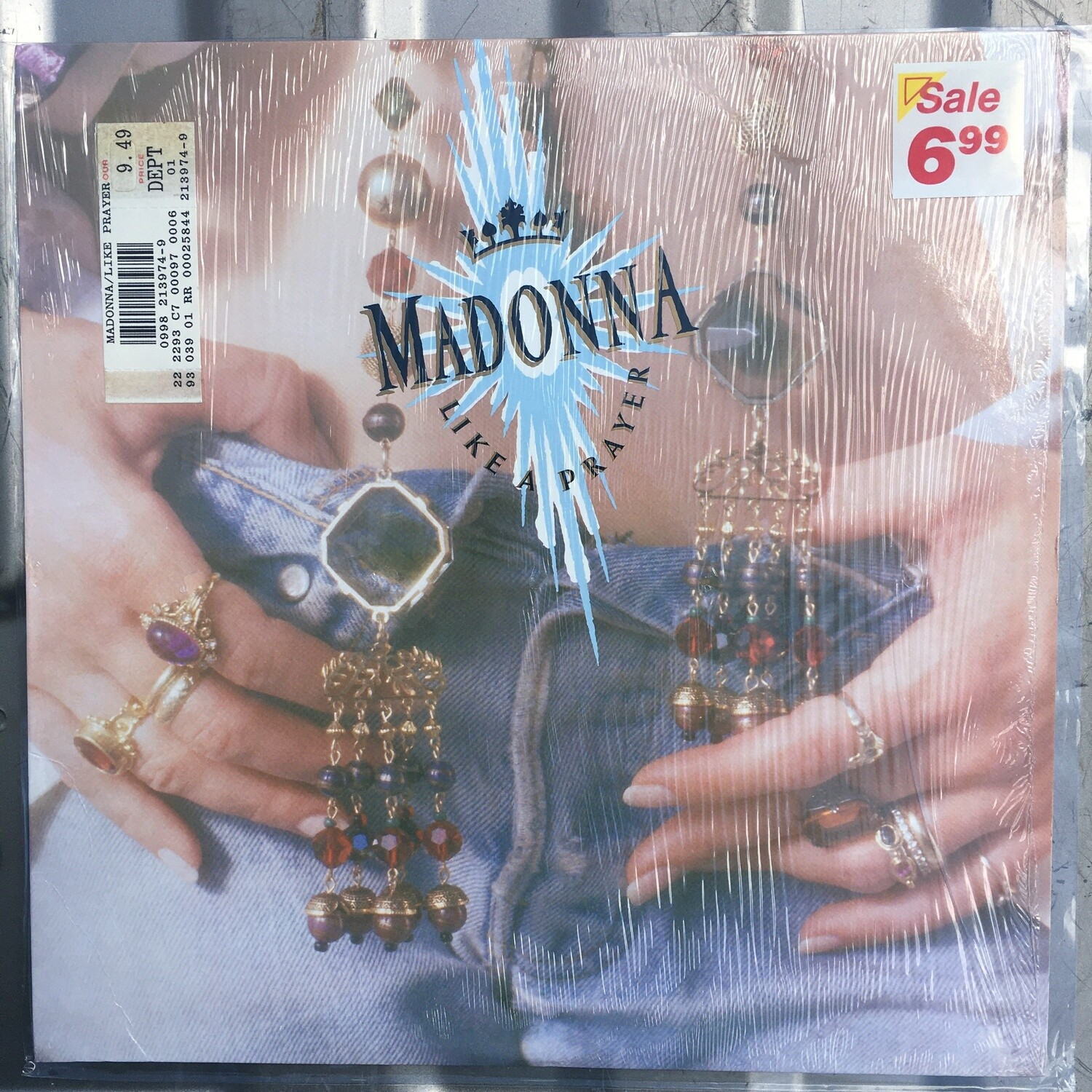 Madonna ~ Like A Prayer~ (USED) Vinyl LP ~ (1989) Excellent Condition