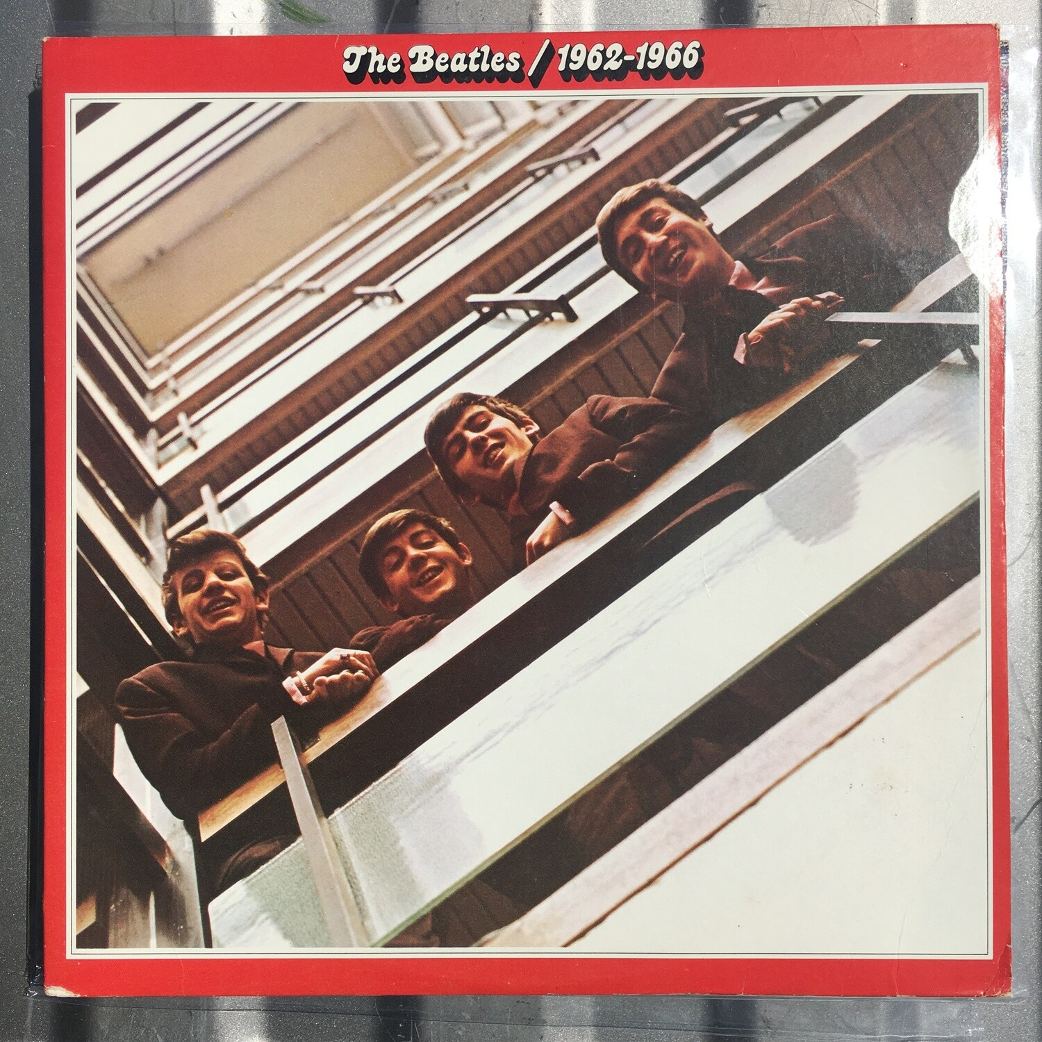 The Beatles ~ 1962-1966 Red Album ~ (USED) Double Vinyl LP