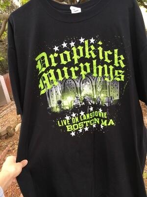 Dropkick Murphys ~ Live On Lansdowne ~ Band T-Shirt ~ Adult Unisex Size Extra Extra Large (2XL)