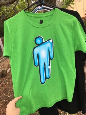 Billie Eilish ~ Blohsh ~ (NEW) Adult Unisex T-Shirt ~ Size Extra Small (XS)