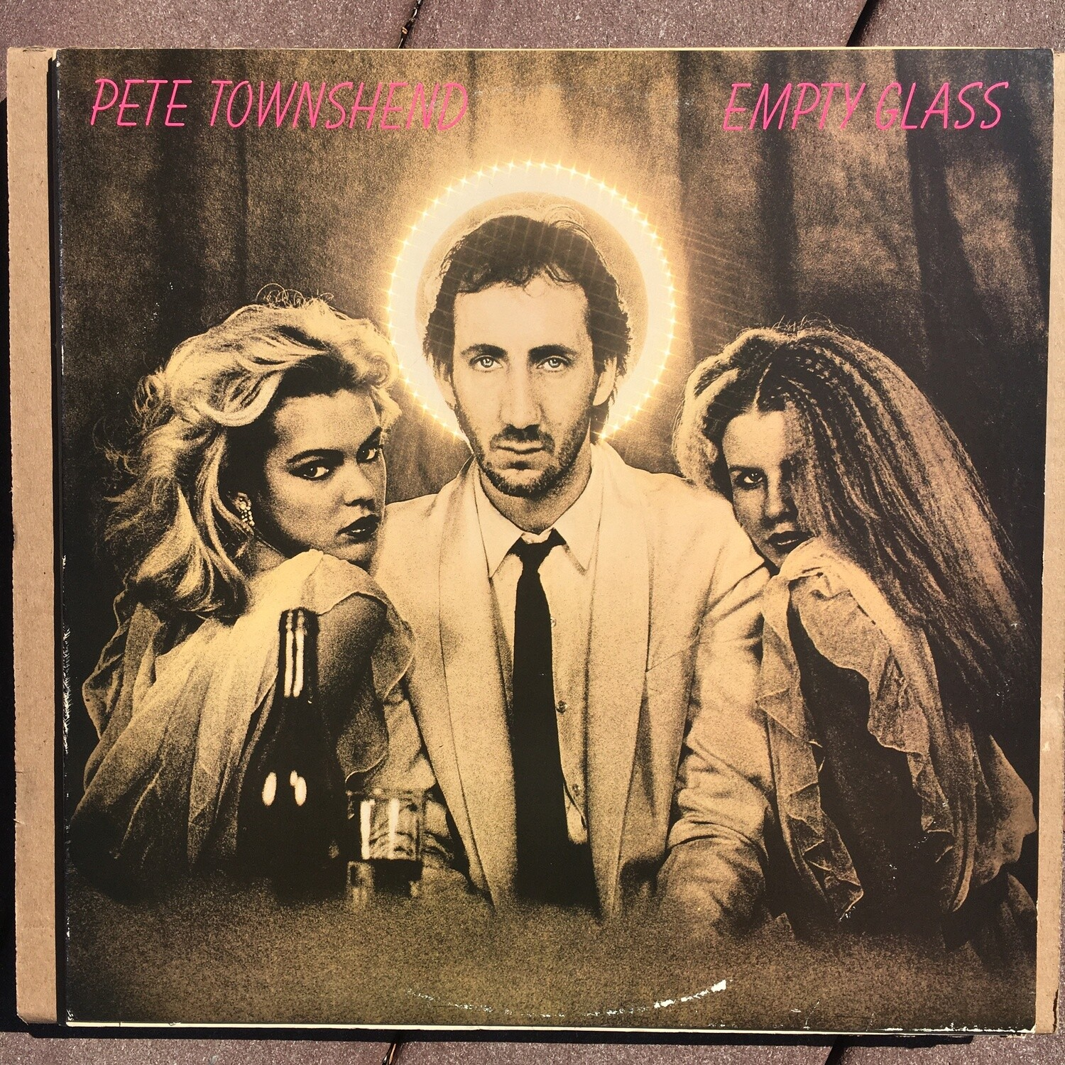 Pete Townshend ~ Empty Glass ~ (USED) Vinyl LP (VG+) ~ Original Pressing