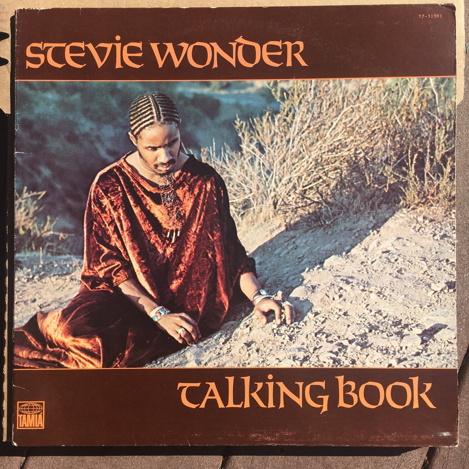 Stevie Wonder ~ Talking Book ~ (USED) Vinyl LP (VG+)