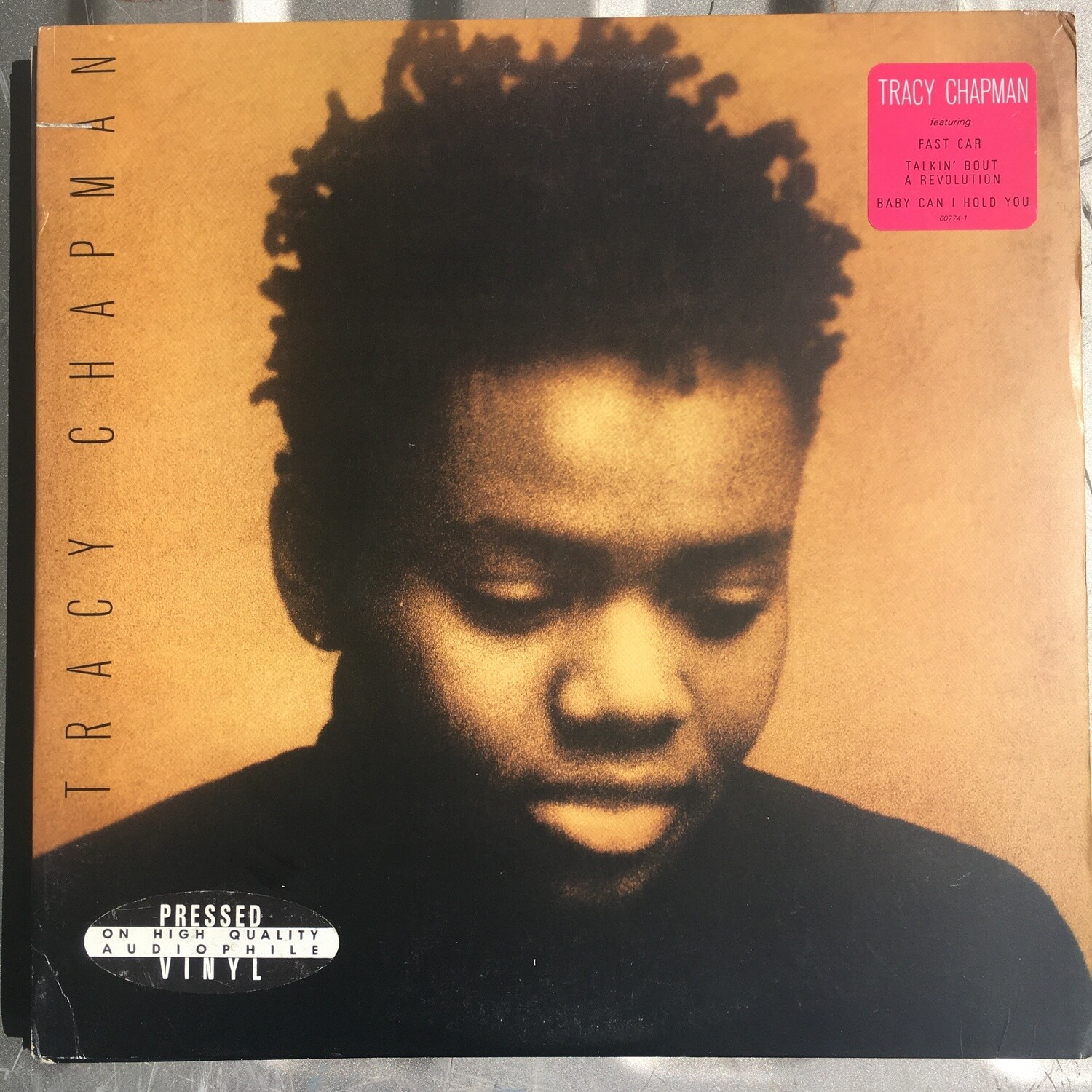 Tracy Chapman ~ Self Titled ~ (USED) Vinyl LP ~ (1988) Promotional Copy