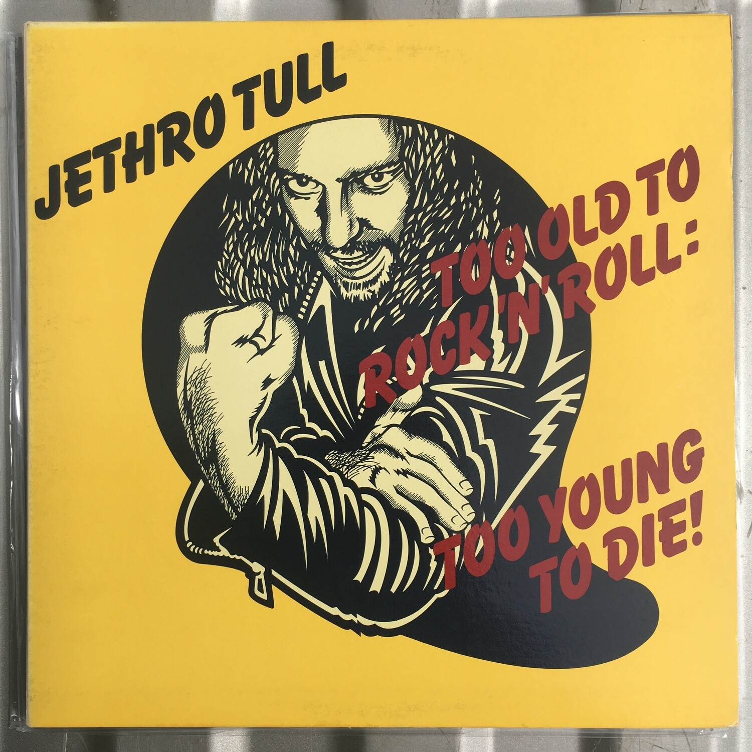 Jethro Tull ~ Too Old To Rock N' Roll: Too Young To Die! ~ (USED) Vinyl LP ~ Original Pressing
