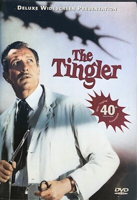 The Tingler ~ DVD ~ Vincent Price with Judith Evelyn (Used) Excellent