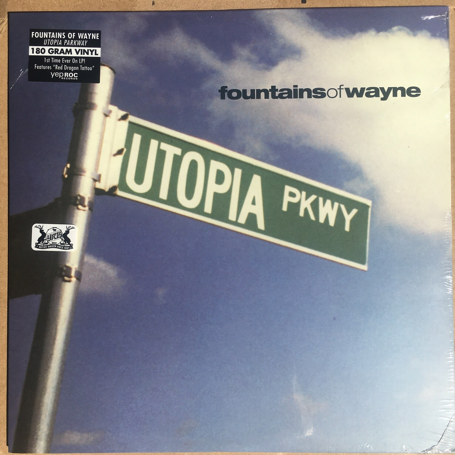 Fountains Of Wayne ~ Utopia Parkway ~ (NEW) Vinyl LP