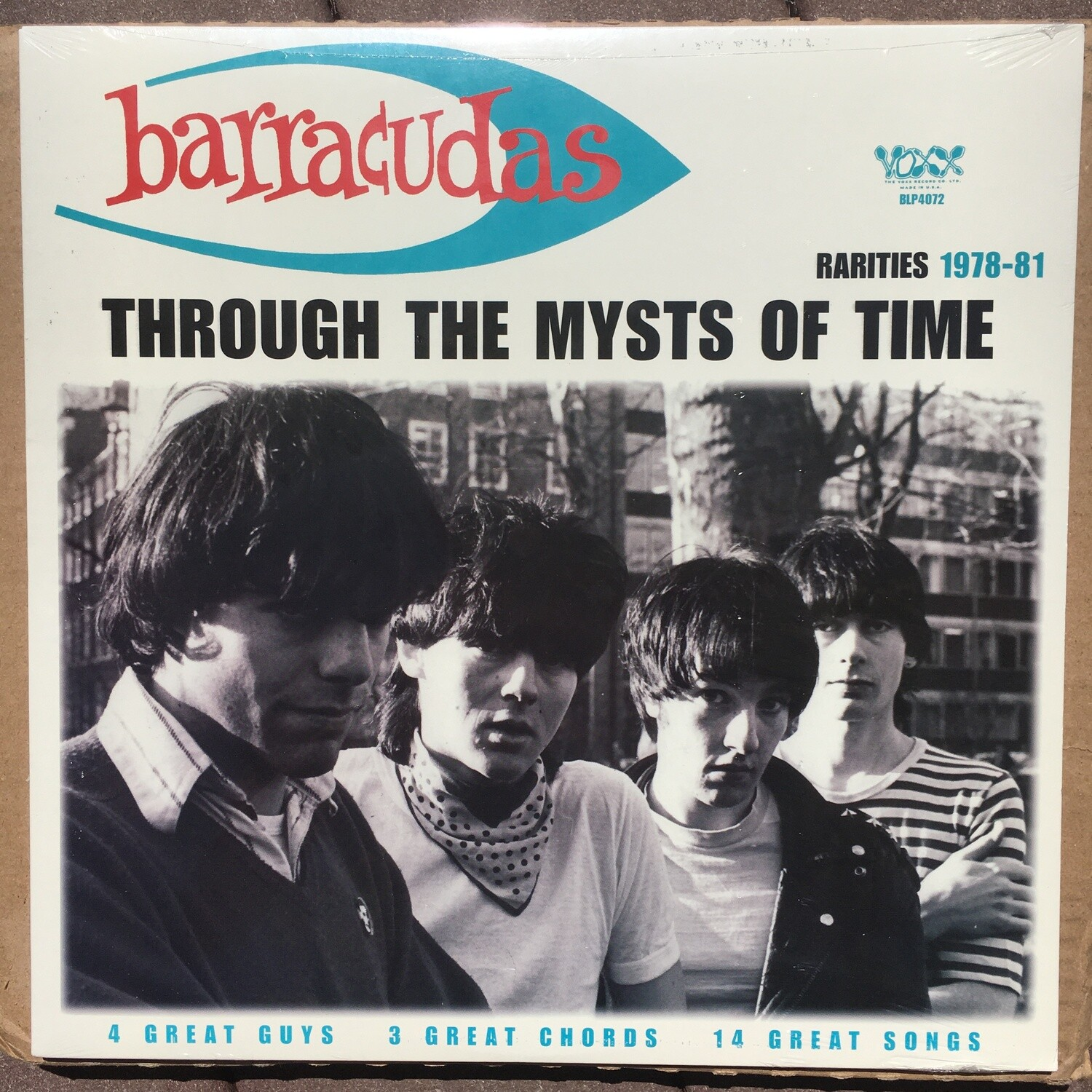 Barracudas ~ Through The Mysts Of Time ~ (NEW) Vinyl LP