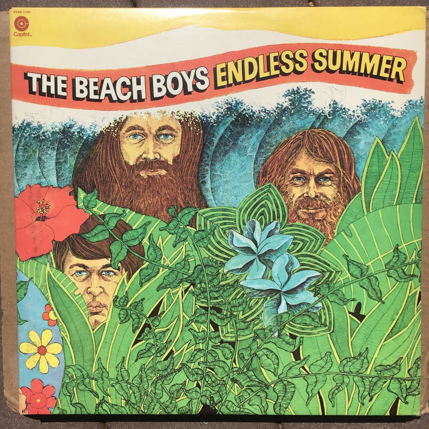 The Beach Boys ~ Endless Summer ~ (USED) 2X Vinyl LP ~ (1974) Original Pressing