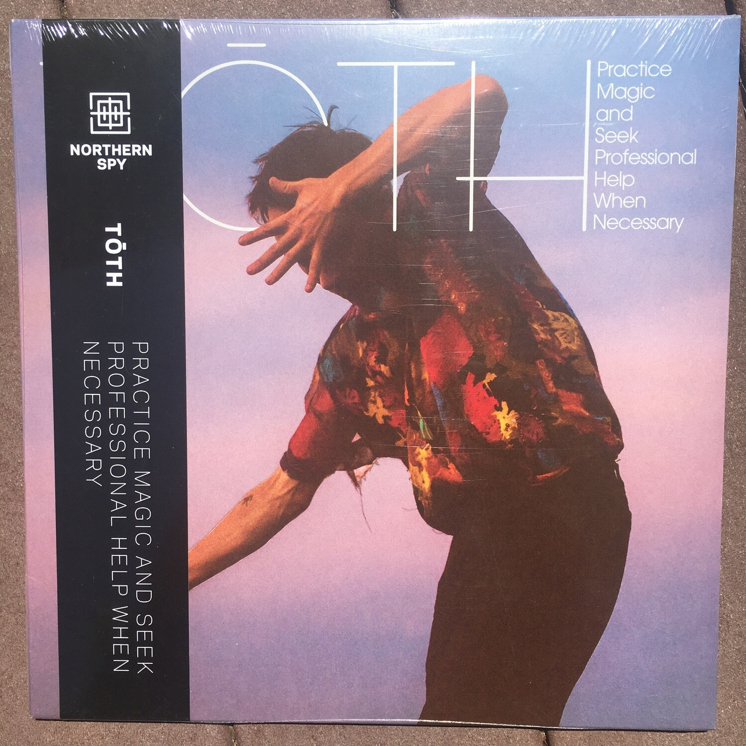 Toth ~ Practice Magic And Seek Professional Help When Needed ~ (NEW) Vinyl LP ~ Digital Download