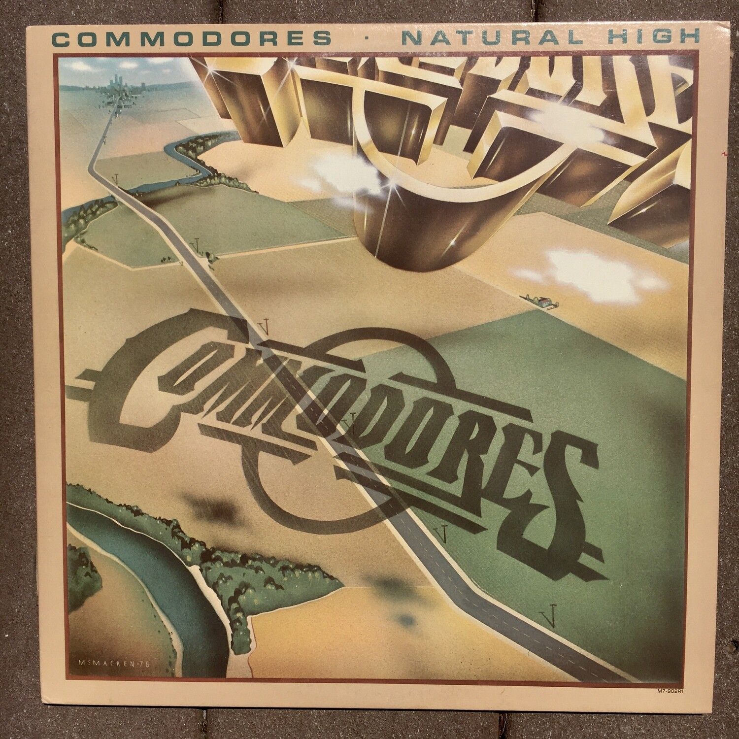 Commodores ~ Natural High ~ (USED) Vinyl LP ~ (VG+) Original Pressing