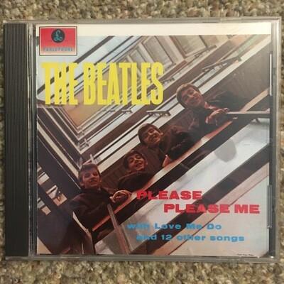 The Beatles ~ Please Please Me ~ (1987) CD