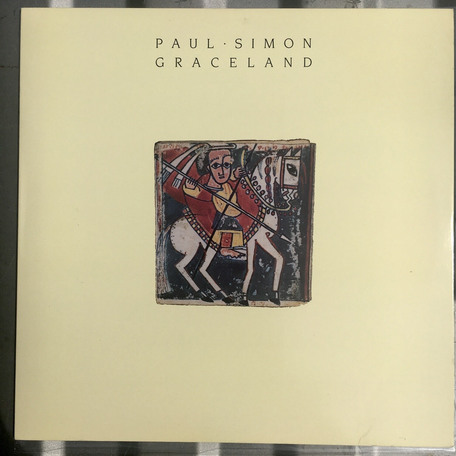 Paul Simon ~ Graceland ~ (USED) Vinyl LP ~ Original Pressing