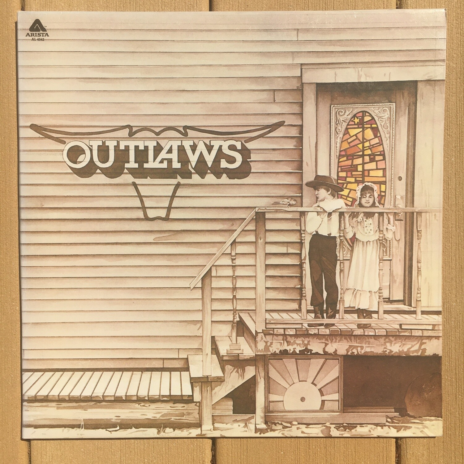 The Outlaws ~ Self Titled ~ (USED) Vinyl LP ~ (VG+)