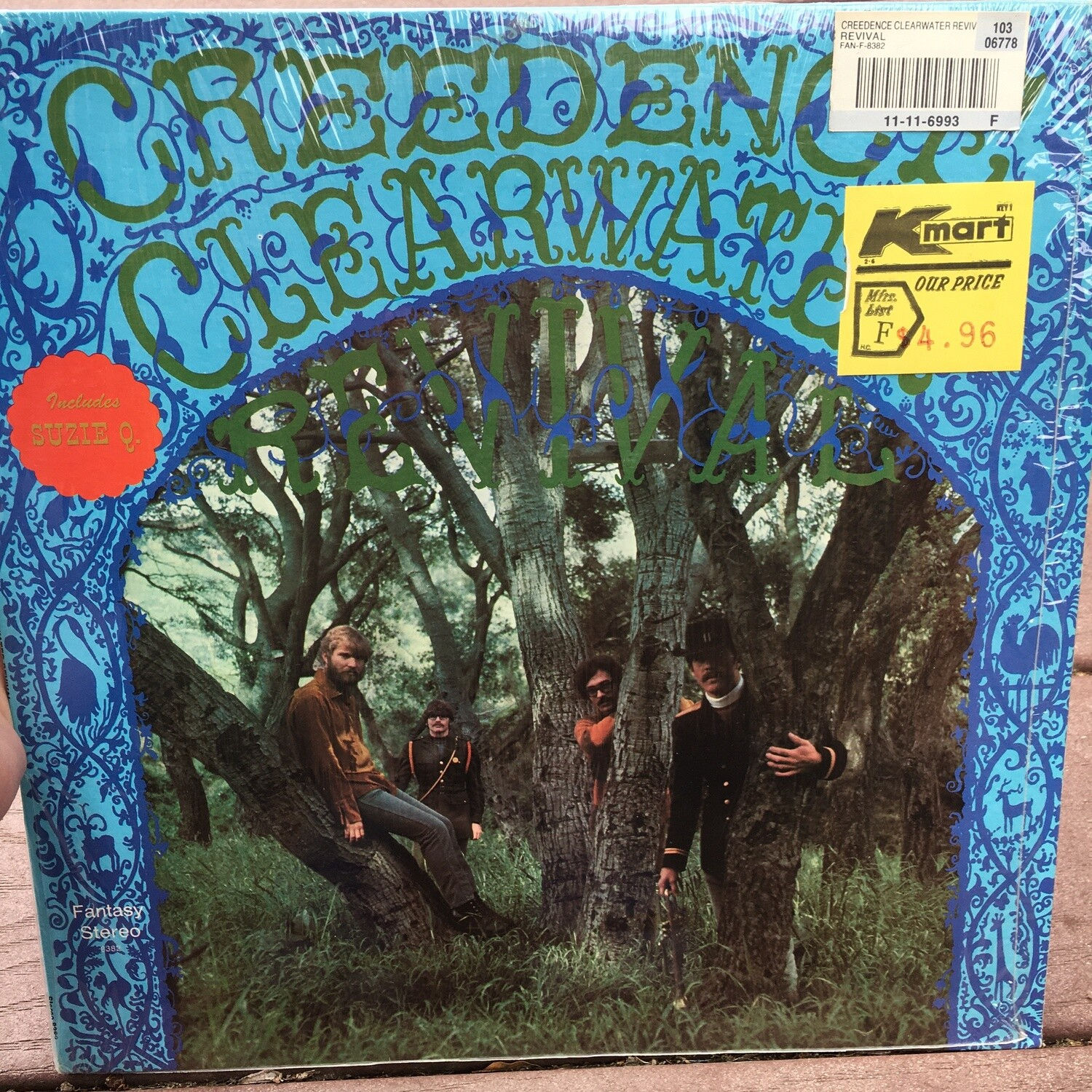 Creedence Clearwater Revival ~ Self Titled ~ (USED) Vinyl LP