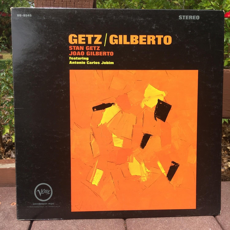 Stan Getz and Joao Gilberto ~ Getz/Gilberto ~ (USED) Vinyl LP ~ Original Pressing