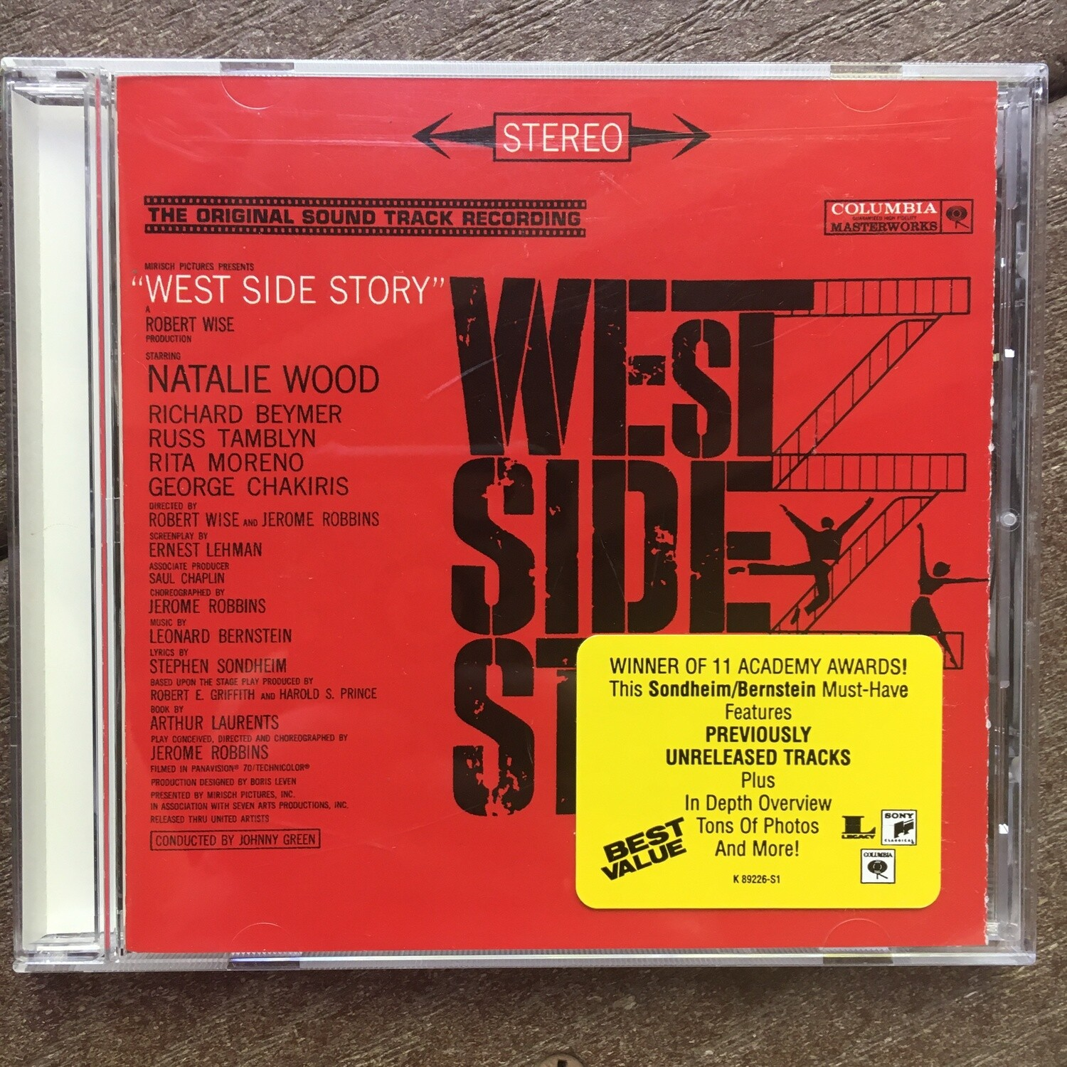 West Side Story ~ Soundtrack ~ (USED) CD