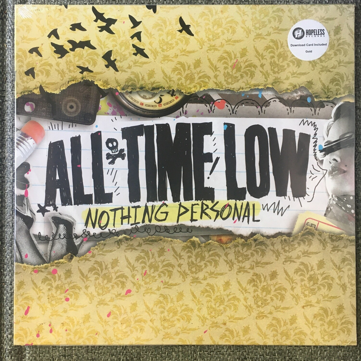 All Time Low ~ Nothing Personal ~ (NEW) Vinyl LP