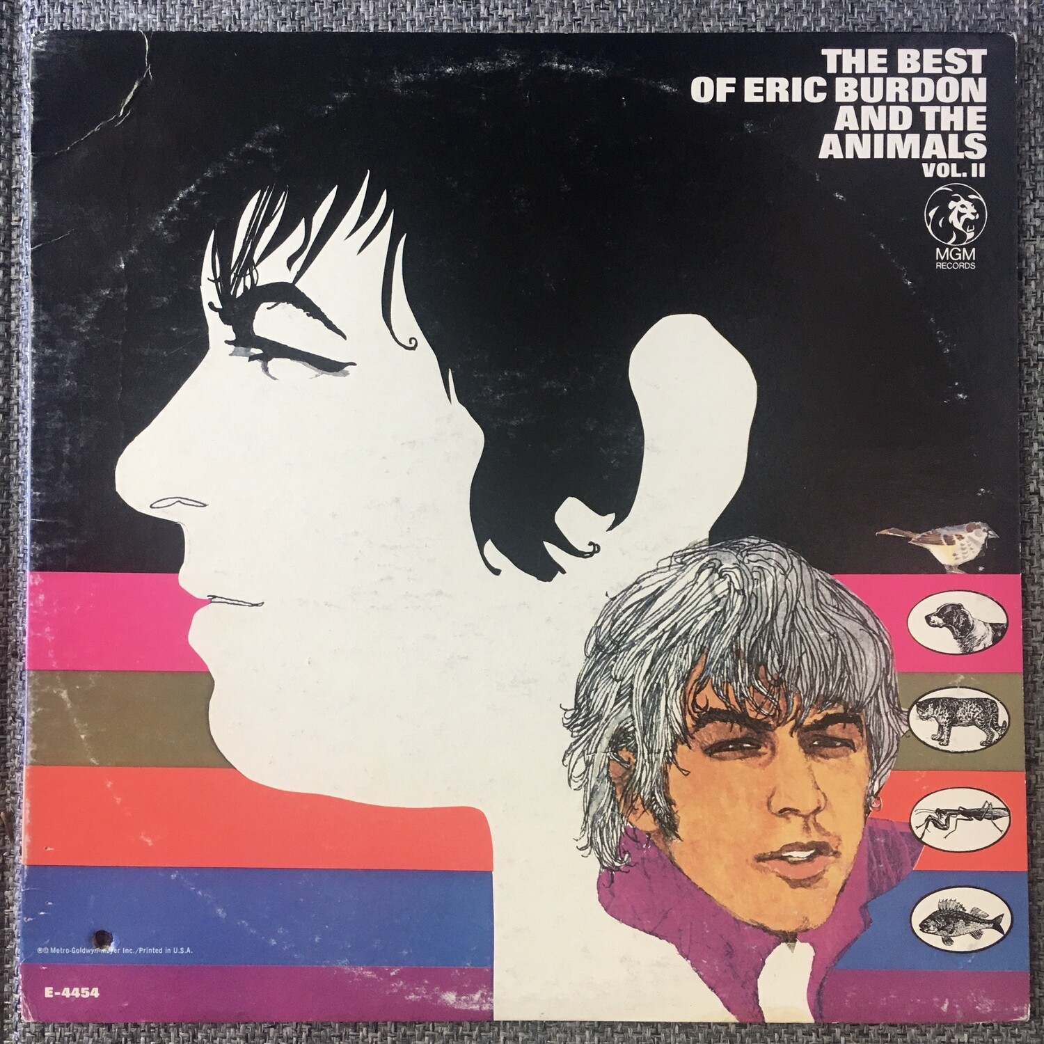The Best Of Eric Burden And The Animals ~ Vol. II ~ (USED) Vinyl LP ~ Original Pressing