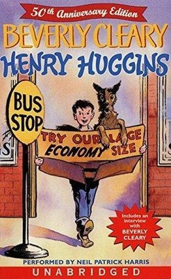 Henry Huggins (50th Anniversary Edition: Includes an Interview with the Author) 2 Cassette Tapes (New) Sealed
