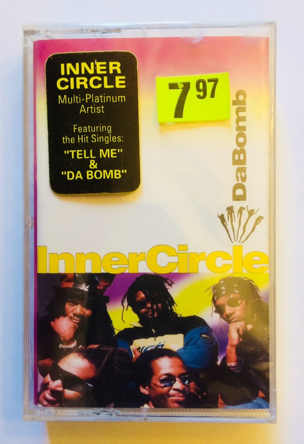 Inner Circle - DaBomb Cassette Tape (New) Sealed