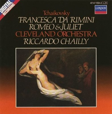 Tchaikovsky: Francesca da Rimini; Romeo & Juliet - CD (Used) Nearly New