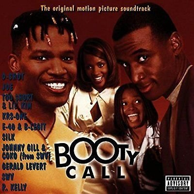 Booty Call- The Original Motion Soundtrack - CD (New) Promo Sealed