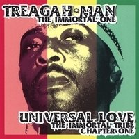 Treagah Man - Universal Love CD - The Immortal Tribe (New)