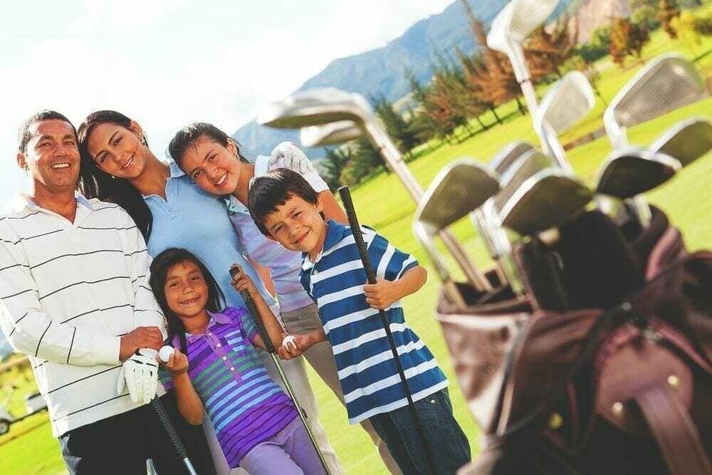 3 x 60 min Family Golf Session